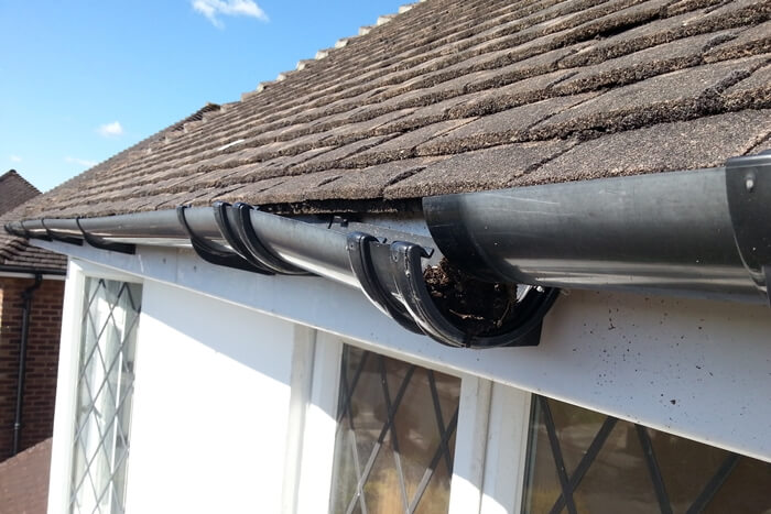 Can A Damaged Roof Affect My Gutters-