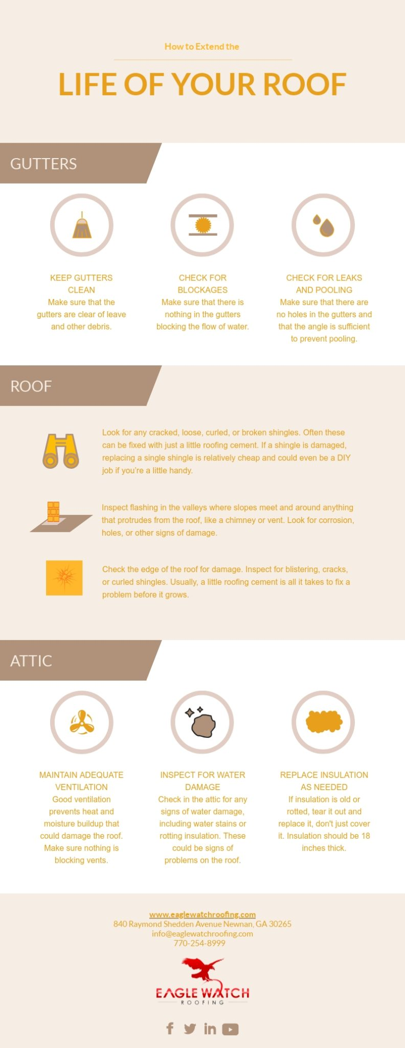 How to Extend the Life of Your Roof [infographic]