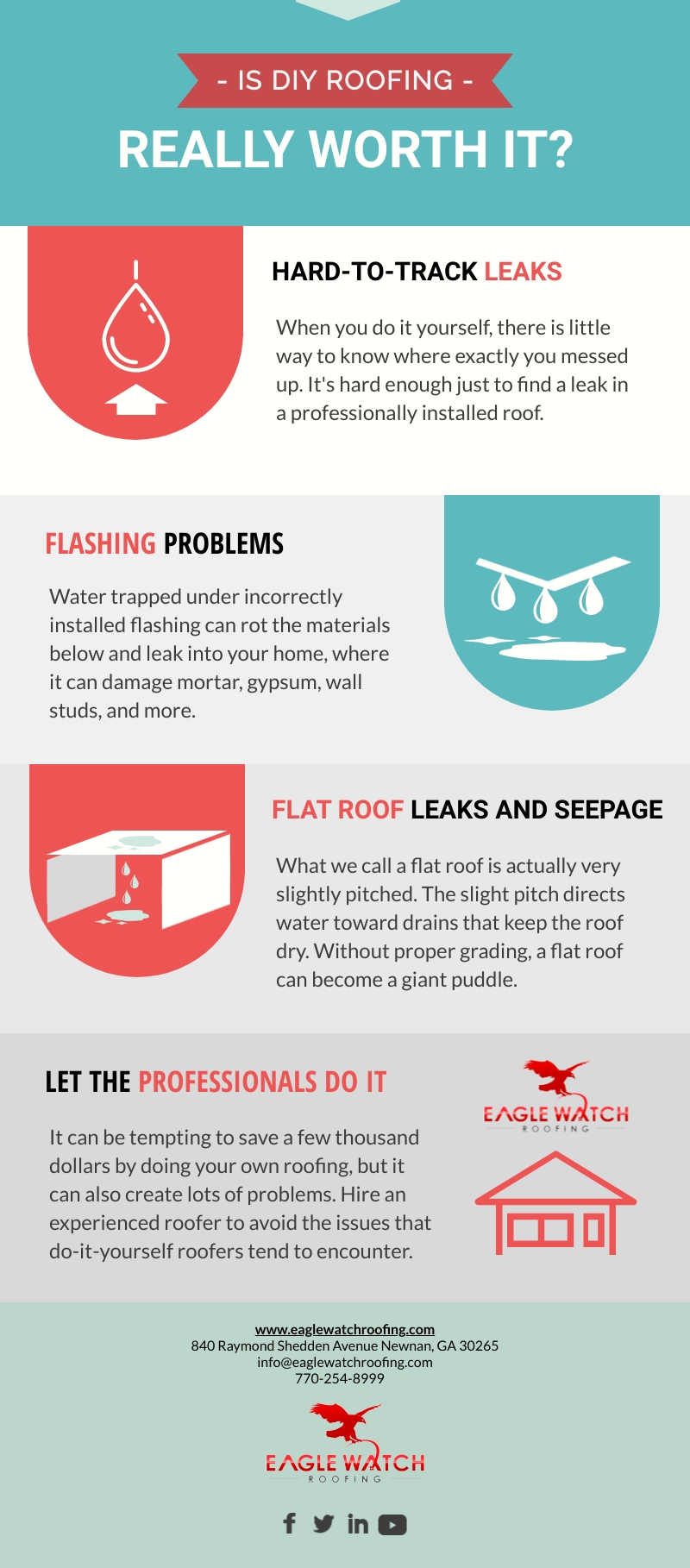 Is DIY Roofing Really Worth It [infographic]
