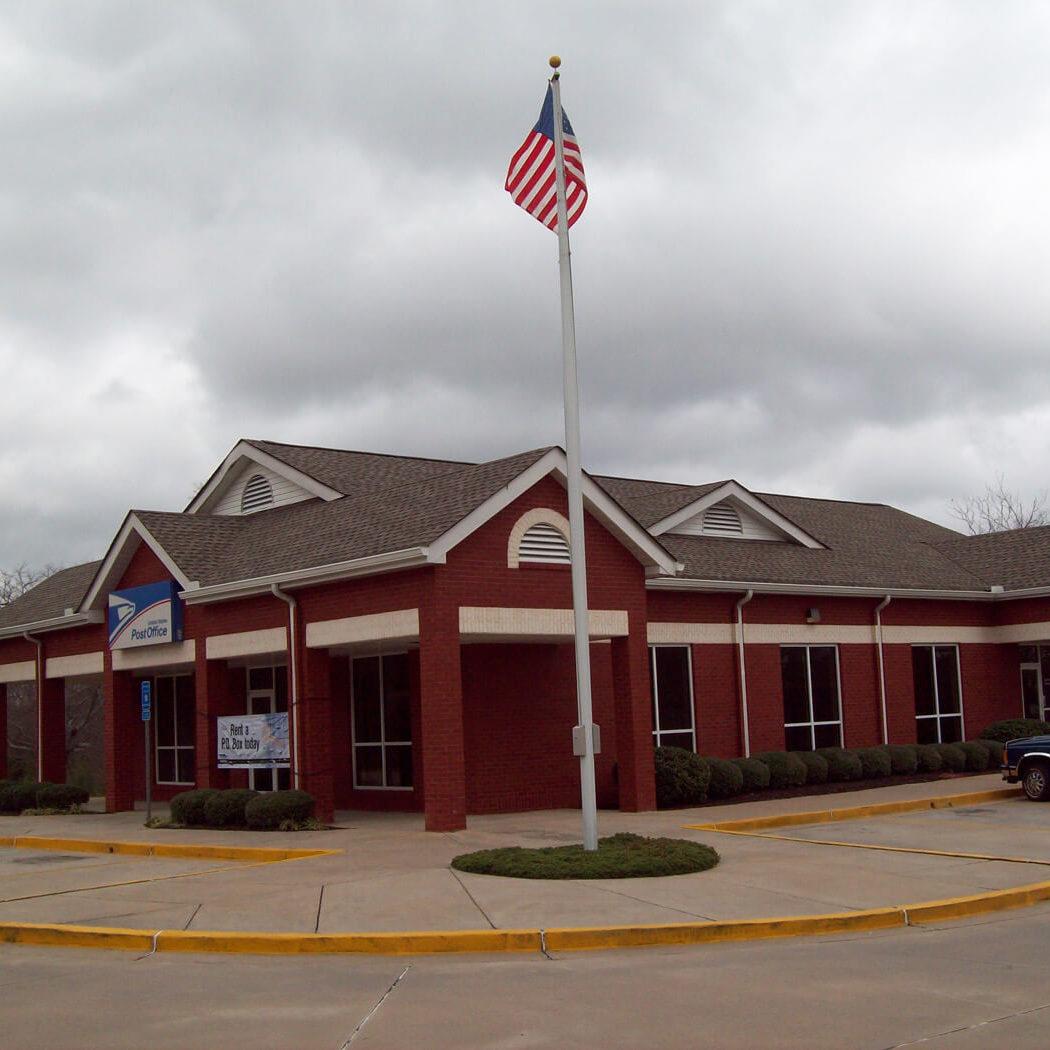 Moreland Post office GAF Weatherwood Timberline HD